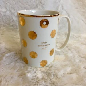 nwt kate spade / start something new coffee mug